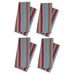 Food Network™ Multi Stripe Woven Napkin 4-pack