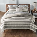 NEW! SONOMA Goods for Life? Farmhouse Stripe Comforter Set
