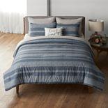 Sonoma Goods For Life® Farmhouse Stripe Comforter Set with Shams