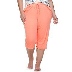 Plus Size Gloria Vanderbilt Pajama Capris