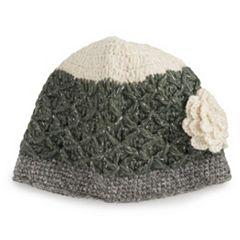 Women's SIJJL Wool Flower Beanie