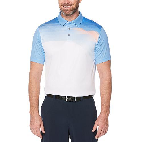 Men's Grand Slam Clean Pixelated Print Polo