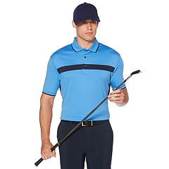 Men's Grand Slam Driflow Regular-Fit Performance Golf Polo