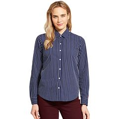 Women's IZOD Button-Front Shirt