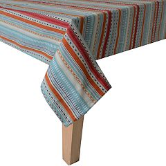 Food Network™ Multi Stripe Woven Tablecloth