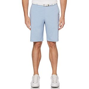 Men's Grand Slam On Course Active Waistband Heathered Stretch Performance Golf Shorts