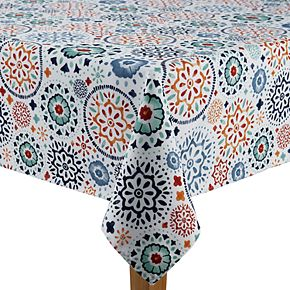 Food Network? Medallion Print Tablecloth