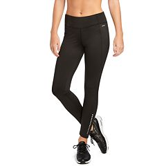 Women's Jockey Sport Performance Fleece Midrise Ankle Leggings