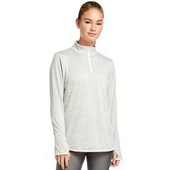 Women's Jockey Sport Circle Back 1/4-Zip Top