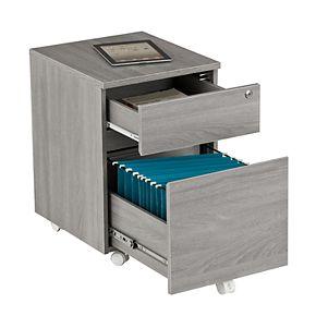 Techni Mobili Rolling 2-Drawer Filing Cabinet