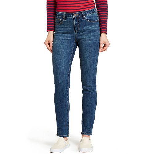 Women's IZOD Comfort Waist Skinny Jeans