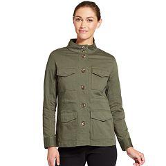 Women's IZOD Twill Utility Jacket