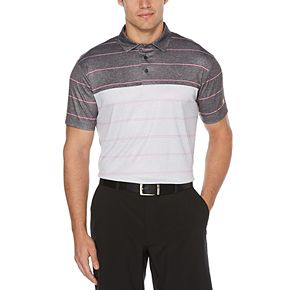 Men's Jack Nicklaus Stacked Heather Striped Polo