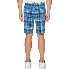 Mens Jack Nicklaus Flat Front Plaid Shorts