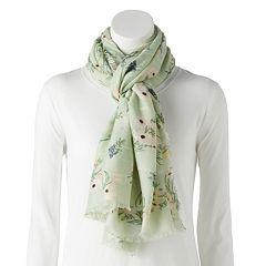Women's LC Lauren Conrad Floral Wrap Scarf