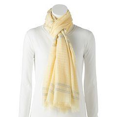 Women's LC Lauren Conrad Striped Wrap Scarf