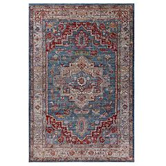 KAS Rugs Ashton Framed Medallion Rug