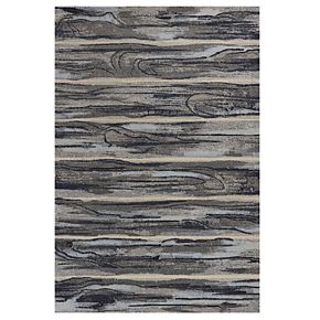 KAS Rugs Illusions Abstract Striped Rug
