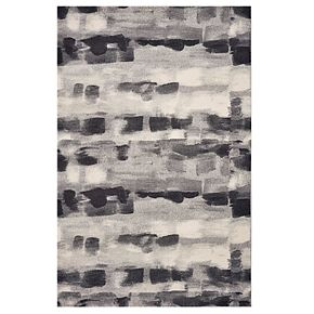 KAS Rugs Illusions Monochromatic Abstract Rug