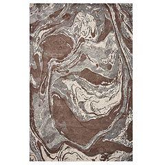 KAS Rugs Illusions Marble Swirl Rug
