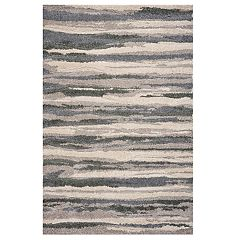 KAS Rugs Monterrey Abstract Striped Rug