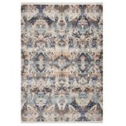 KAS Rugs Papillon Geometric Distressed Rug