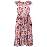Girls 7-16 Bonnie Jean Printed Walk-Thru Dress