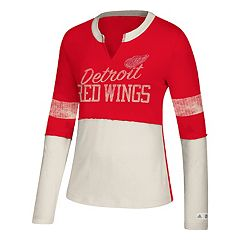 Women's adidas Detroit Red Wings Finished Tee