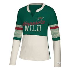 Women's adidas Minnesota Wild Finished Tee