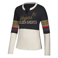 Women's adidas Vegas Golden Knights Finished Tee