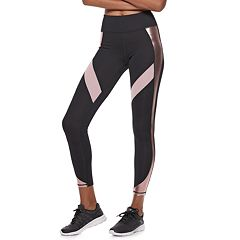 Women's FILA SPORT® Shine Inset High-Waisted Leggings