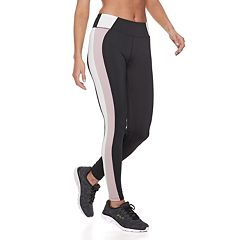 Women's FILA SPORT® Striped Color Block Midrise Leggings