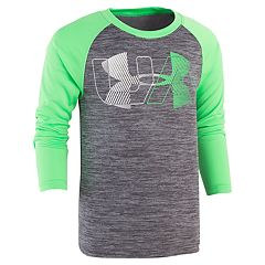 Boys 4-7 Under Armour Logo Twist Raglan Graphic Tee