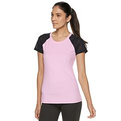 Women's FILA SPORT® Open Back Mesh Short Sleeve Tee
