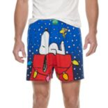 Men's Peanuts Snoopy Holiday Boxer Briefs