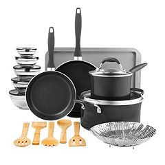 Food Network™ 23-pc. Nonstick Aluminum Cookware Set