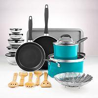 Deals on Food Network 23-pc. Nonstick Aluminum Cookware Set