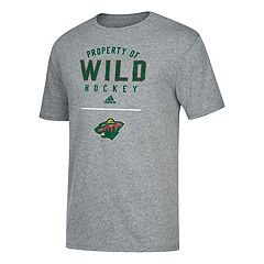 Men's adidas Minnesota Wild Property Of Tee