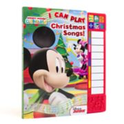 Disney's Mickey Mouse Clubhouse: I Can Play Christmas Songs! Book