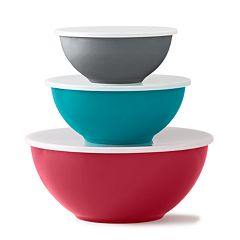 Food Network™ 6-pc. Mixing Bowl Set with Lids