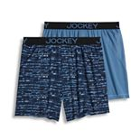 Men's Jockey® 2-pack Microfiber No Bunch Boxers?