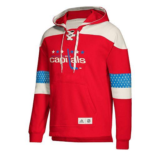 detailing 1e28f 4a5eb Men's adidas Washington Capitals Jersey Hoodie