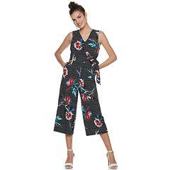 Women's Apt. 9® Wrap Front Jumpsuit