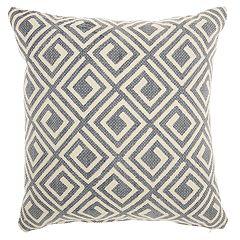 Mina Victory Life Styles Greek Key Throw Pillow