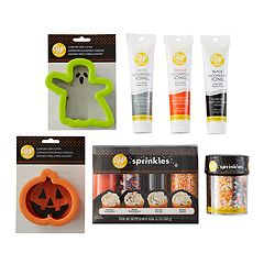 Wilton 7-piece Halloween Cookie Baking & Decorating Set