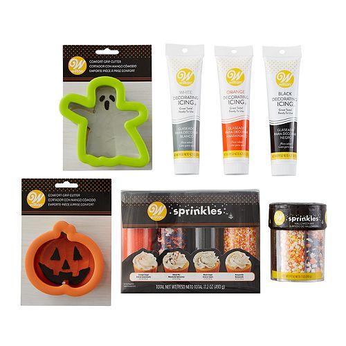Wilton 7-piece Halloween Cookie Baking & Decorating Set