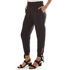 Women's Apt. 9® Challis Pull-On Ankle Pants