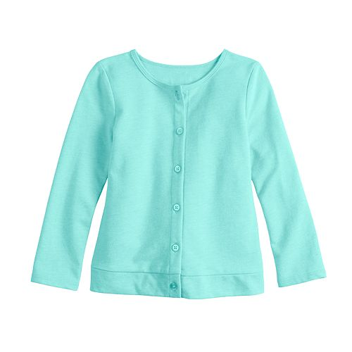 e08b3576f4 Toddler Girl Jumping Beans® Solid Cardigan
