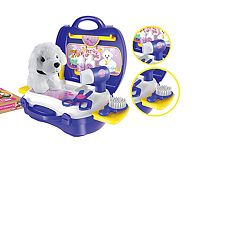 World Tech Toys Pet Grooming Suitcase Playset