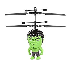 World Tech Toys Marvel Hulk Flying Figure Helicopter